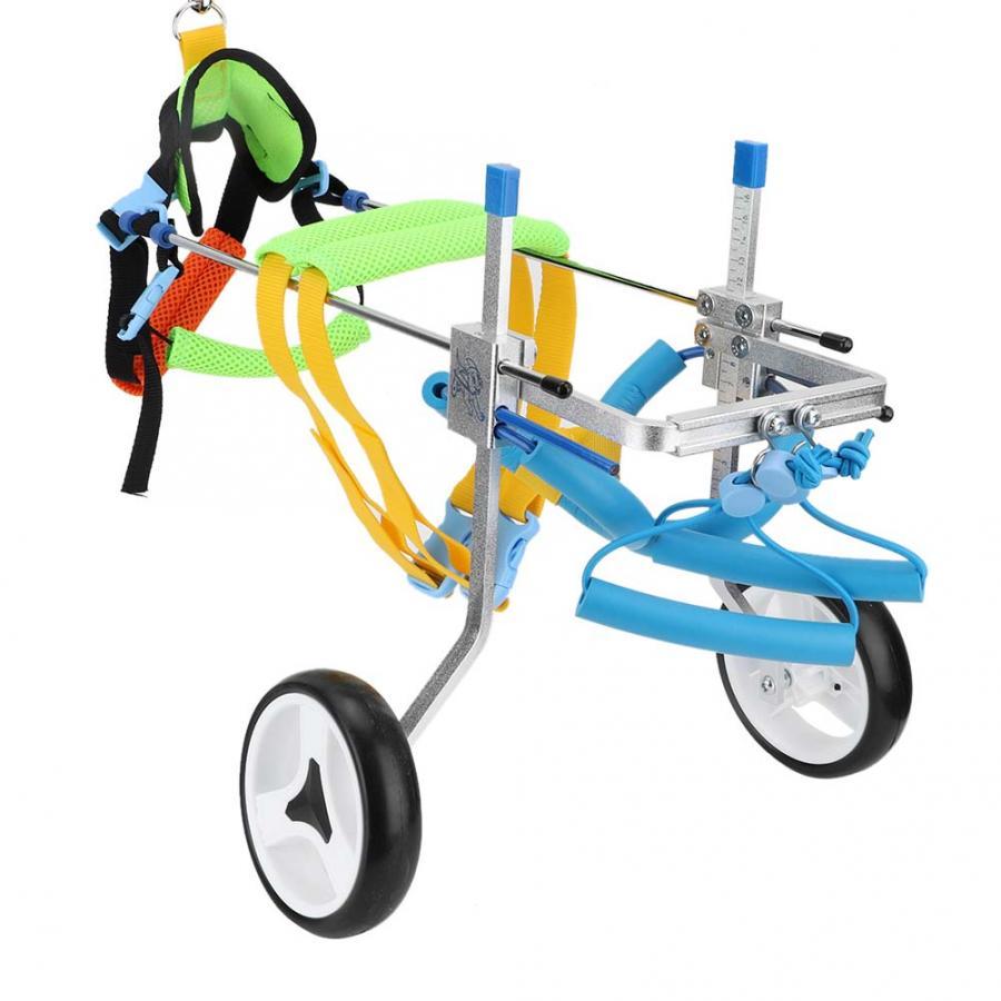 Dog Trainings Adjustable Pet Dog Wheelchair for Hind Legs Rehabilitation Doggy Training Clicker
