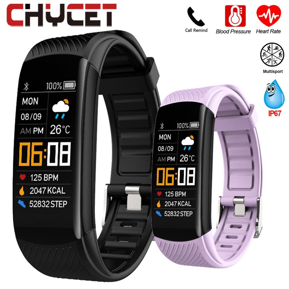 Smart Bracelet Watch Blood Pressure Monitor  Fitness Tracker Bracelet Smart Watch Heart Rate Monitor Smart Band Watch Men Women