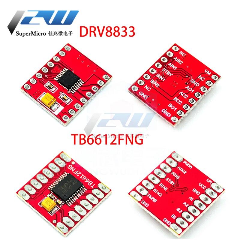 Controlador de Motor doble 1A TB6612FNG DRV8833 para microcontrolador Arduino mejor que...