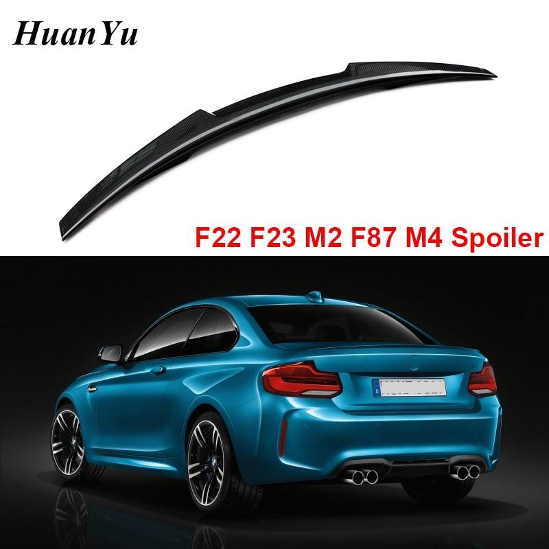 Alerón trasero de fibra de carbono M2 F87 F22 F23 para BMW Serie 2 alas de labio de cola de pato estilo M4 220i M235i 228i 2014 +