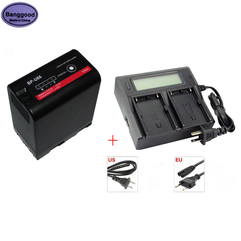 Bateria da Câmera para Sony Bp-u60 U30 U62 Bp-u65 Bp-u90 Bp-u95 Pmw-100 Pmw-200 Pmw-f3k Pmw-ex1 Pmw-ex1r New 4400mah Bp-u66 U66 bp