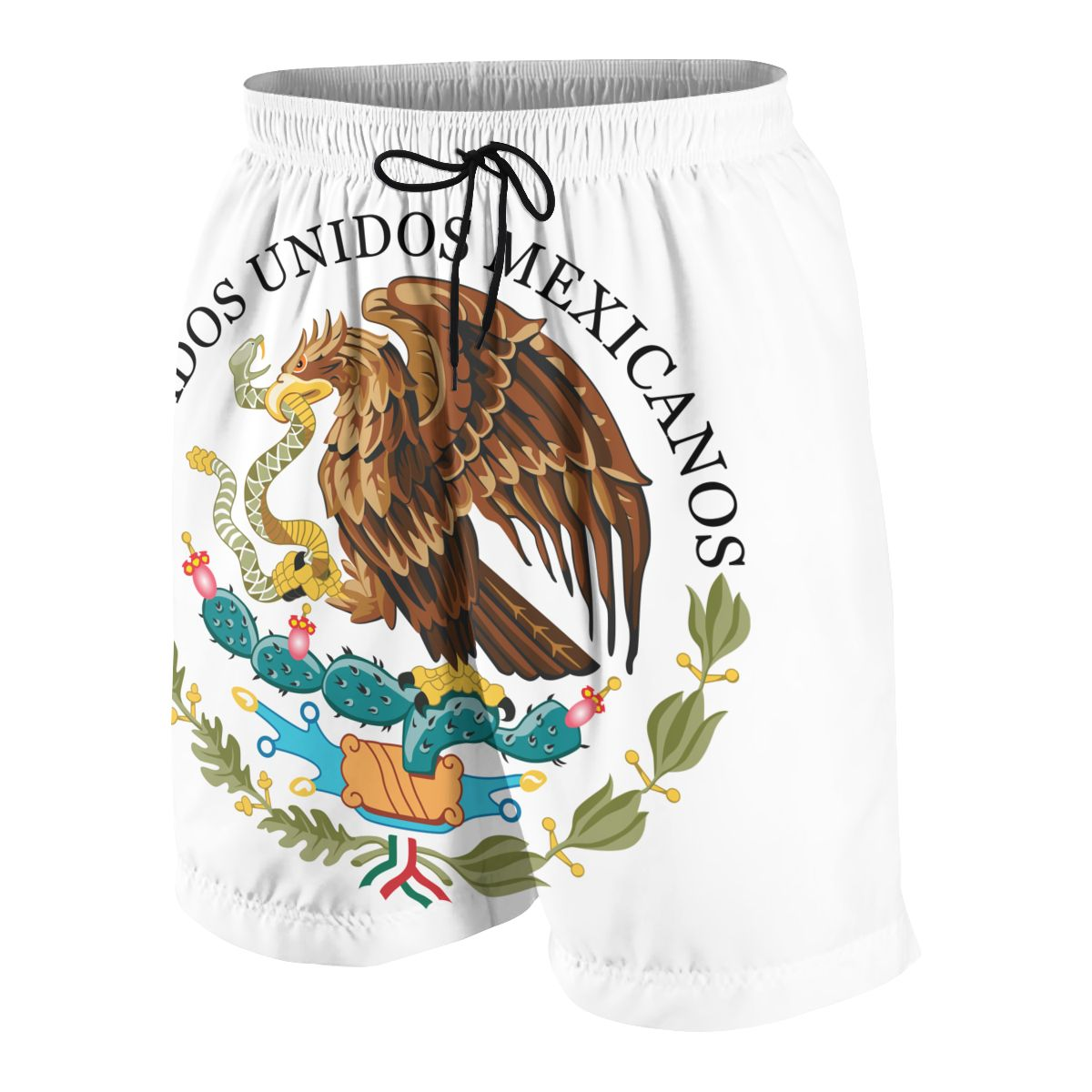 Mexico Eagle Flag Youngsters Shorts Joggers Quick-dry Cool Short Pants Casual Beach Sweatpants