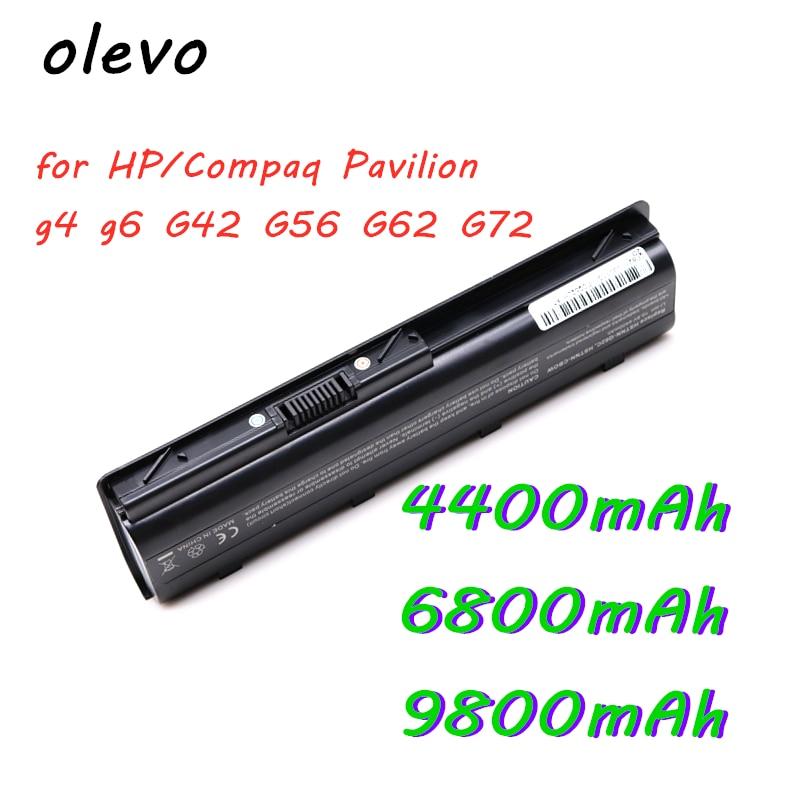 9800 мАч аккумулятор для ноутбука HP/Compaq Pavilion g4 g6 G42 G56 G62 G72 17.25CQ42 CQ43 CQ56 CQ57 CQ62 CQ72 MU06 MU09