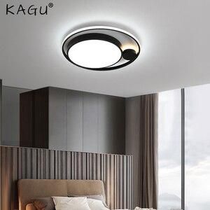 LED Ceiling Lights For Living Room Bedroom Fixtures Chandelier Modern Black Led Ceiling Lamps Indoor Home Decoration Lamp