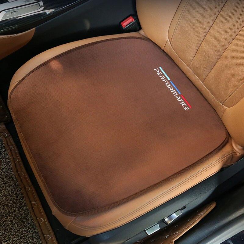 Car Plush Warm Seat Cushion Cover Seat Pad Mat For BMW E46 E52 E53 E60 E90 E91 E93 F30 F20 F10 F15 F13 M3 M5 M6 X1 X3 X5 X6 Z4