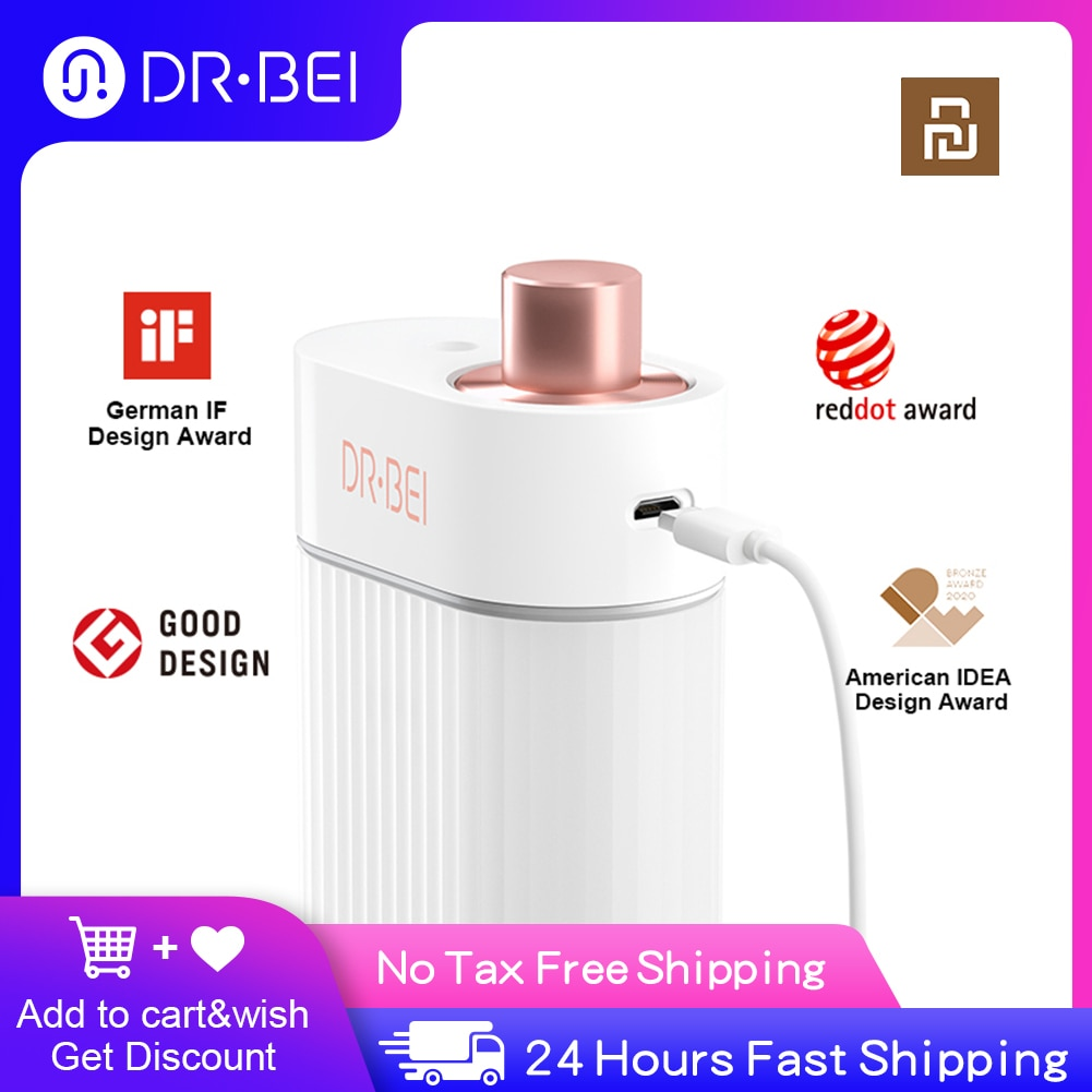 DR·BEI USB Rechargeable Jet Flosser Irrigator for Cleaning Teeh Oral Irrigator Dental Portable Water Flosser Tips Xiaomi Youpin