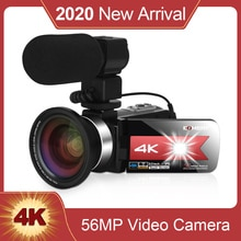 KOMERY NEW Arrival Video Camera Camcorder for Youtube 4K 56MP Touch Screen Night Vision hd Recorder
