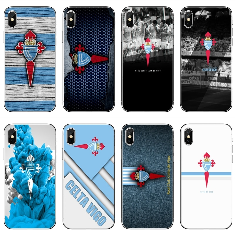 Чехол для телефона samsung Galaxy S10 Lite S9 S8 S7 S6 edge Plus S5 S4 Note 9 8 5 4 mini Spanish football club celta de vigo