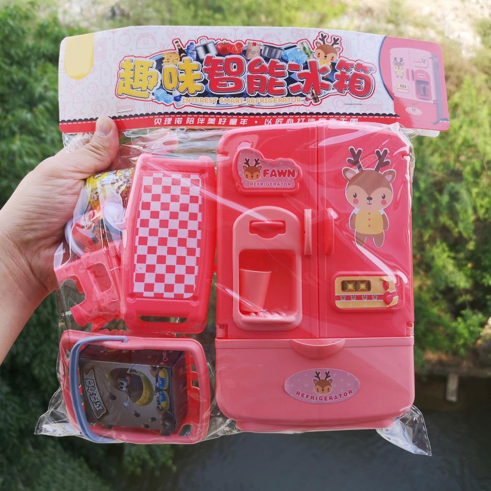 1 комплект игрушечный домик с сумкой, Интерактивная игрушка, красочная игра, ролевая игра, медицинские украшения, фрукты, овощи, медицинские ...