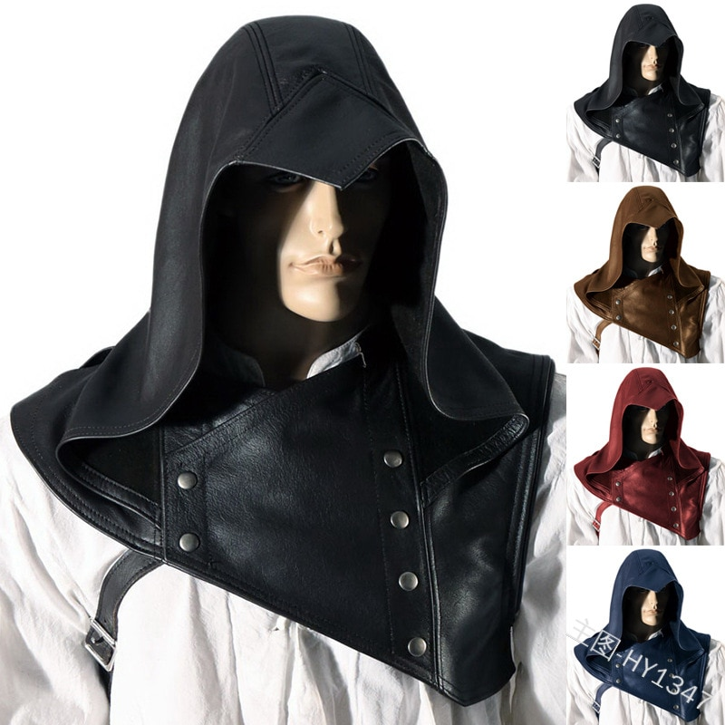 Chapéu cavalier viking acessórios homens, cosplay cavalier, capa xale, guerreiro renascentista