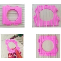 small hamster cage fittings external pipe mouth baffle hamsters toy cages tunnel port outside plate p15d