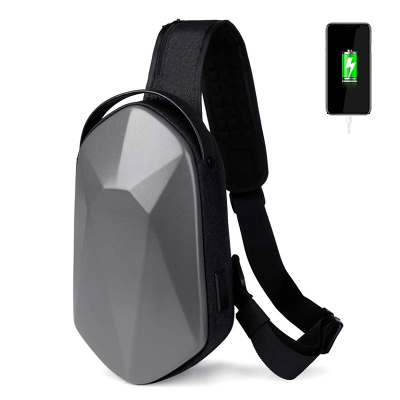 AliExpress - Multifunction Crossbody Bags USB Charging Shoulder Bags for Men Anti-Theft Waterproof Short Trip Anti-theft Chest Bag 2021 New