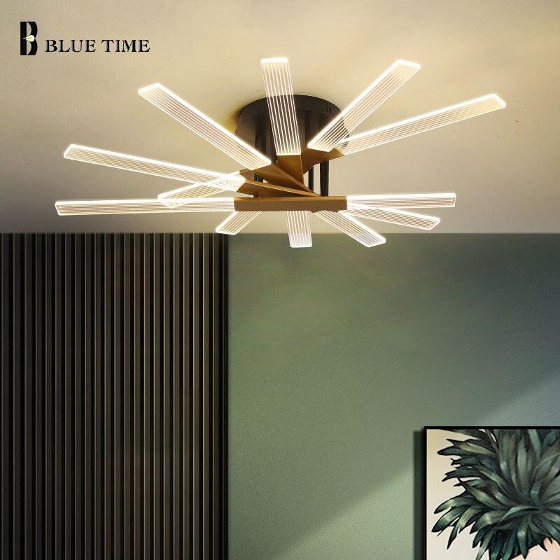 Современный светодиодный Люстра для гостиной, дома, внутреннего освещения, столовой, спальни, Декор, подвесные потолочные люстры, освещение
