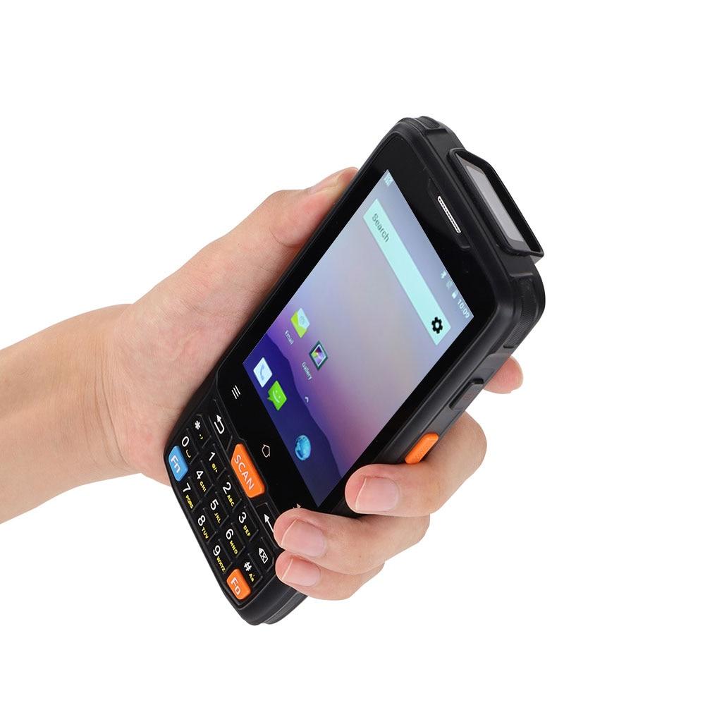 CARIBE nuevo PL-40L PDA portátil Terminal rugosa 1D 2D escáner de código de barras Android 8,1 WiFi 4G Bluetooth GPS códigos de barras lector RFID