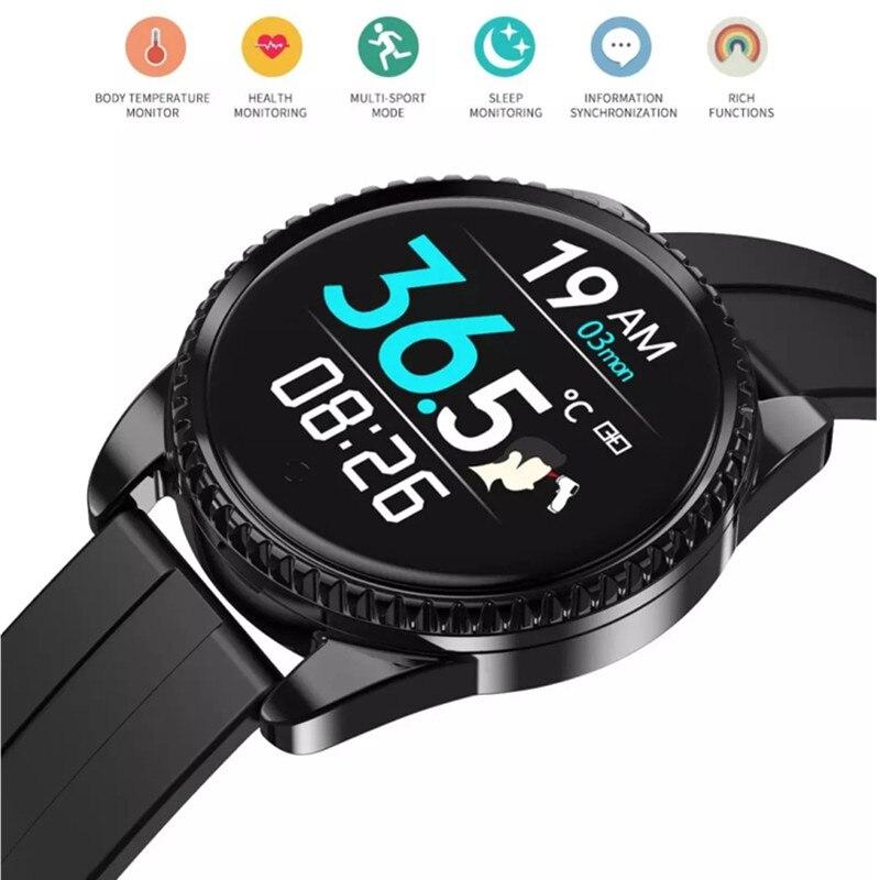 Inteligente à Prova Passo a Passo Novo Multi Funcional Relógio Tela Colorida Temperatura Pulseira Dstep Água Bluetooth Esportes Inteligente