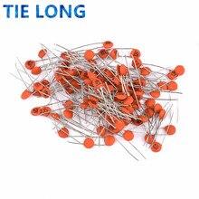 Condensador cerámico de 100 Pines, 50V, 1pF ~ 100nF, 0,1 uF, 104, 4.7PF, 10PF, 22PF, 33PF, 47PF, 101, 220PF, 221, 330PF, 470PF, 1NF, 103, 47NF, 473