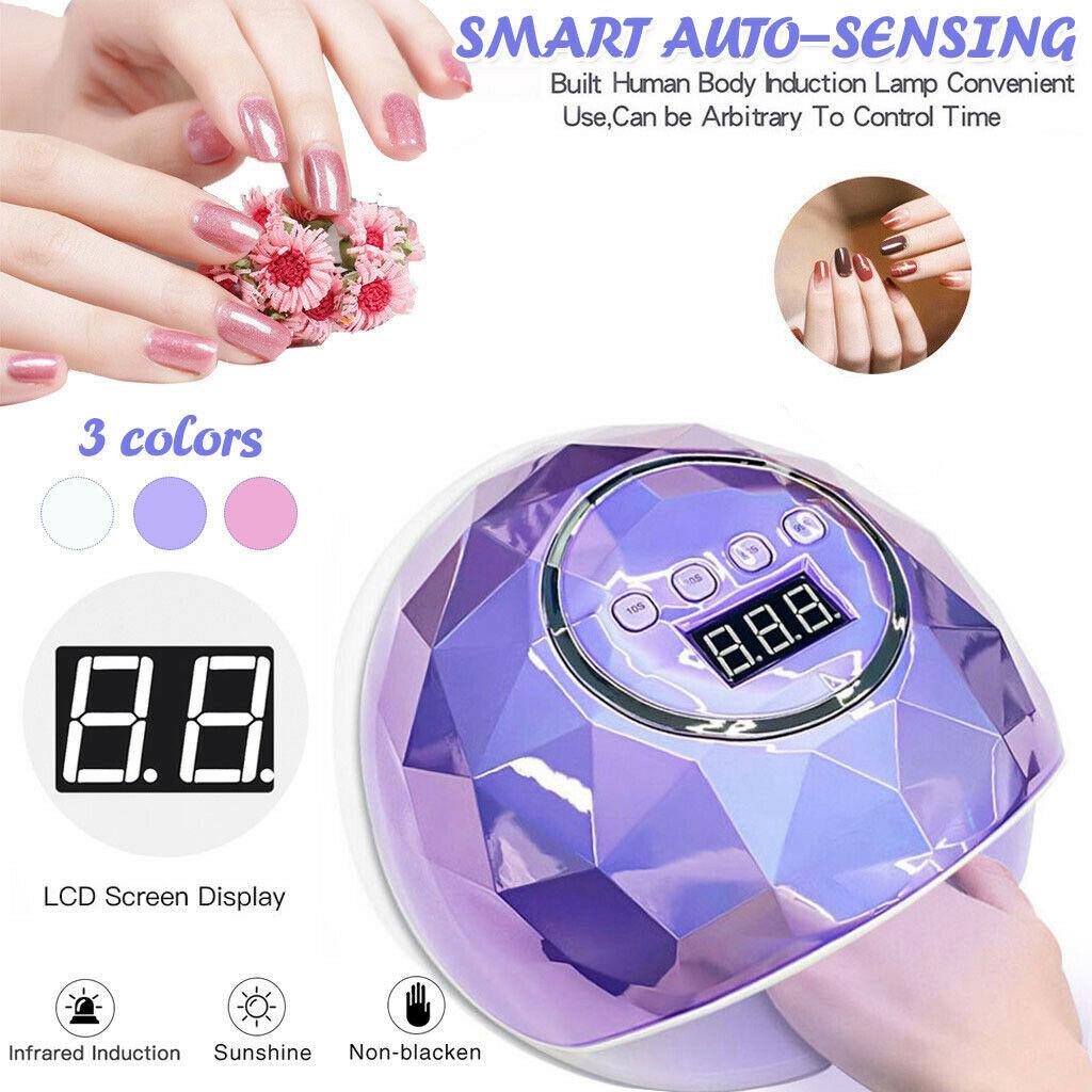 Timer Auto Sensor Nail Art Machine SUN X5 MAX 80W LED UV Lamp Nail Dryer 45 LED Professional For Drying Gel Polish US EU UK AU