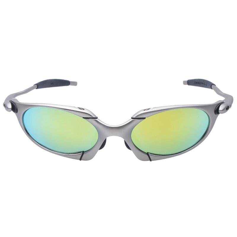 Mtb bicicleta 100% óculos polarizados quadro de liga óculos uv400 óculos de sol dos homens ciclismo óculos de proteção C3-4