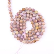 Perles de Lihui violet perles de pierre naturelle 2/3/4mm perles de pin perles despace fabrication de bijoux collier bricolage