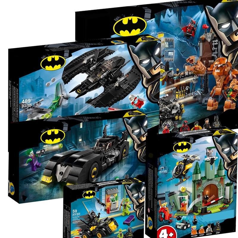 In Stock DC Super Heroes  Batman 76122 Building Blocks For Kids Christmas Gift