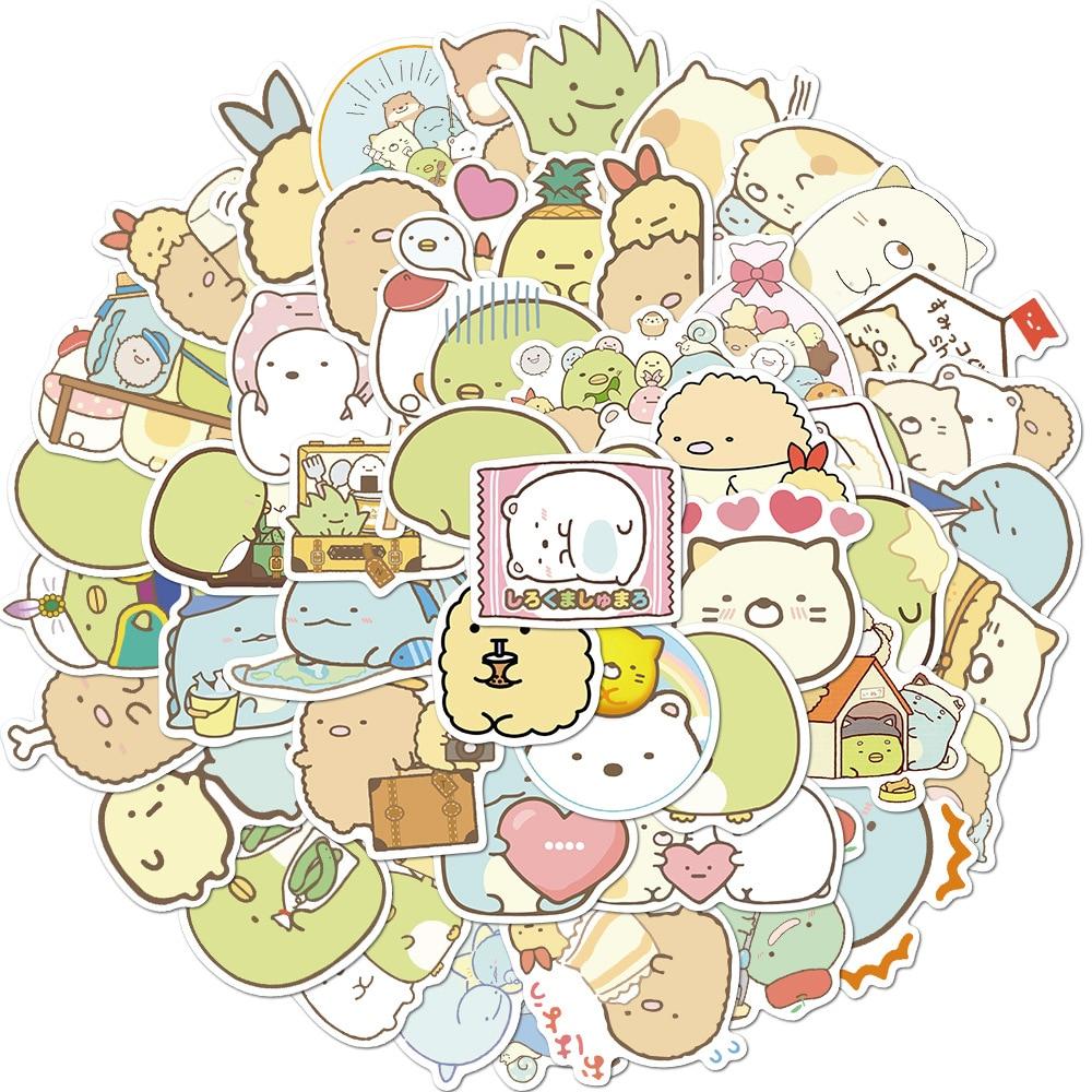 50-pz-set-kawaii-sumikko-gurashi-pvc-anime-giapponesi-adesivi-impermeabili-scrapbooking-fai-da-te-cancelleria-diario-adesivo-bagagli
