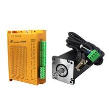 Geschlossen-Schleife NEMA34 Stepping Motor Drive Kit LCDA86H + 86mm motor 2 Phase 6A 3 ~ 12Nm für CNC Router gravur Draht-abisolieren Maschine