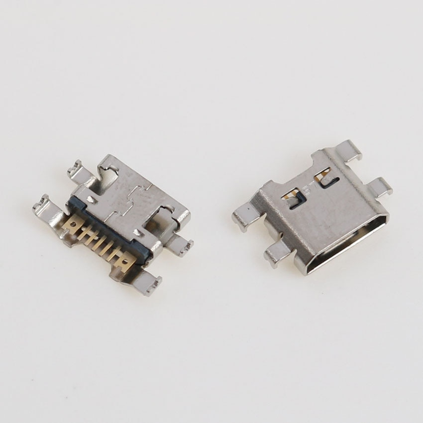 100pcs Micro USB Jack Power Charging Socket Port Dock Connector For LG K4 K10 M160 K8 M200N K520 X K580 K220DS K500N enlarge