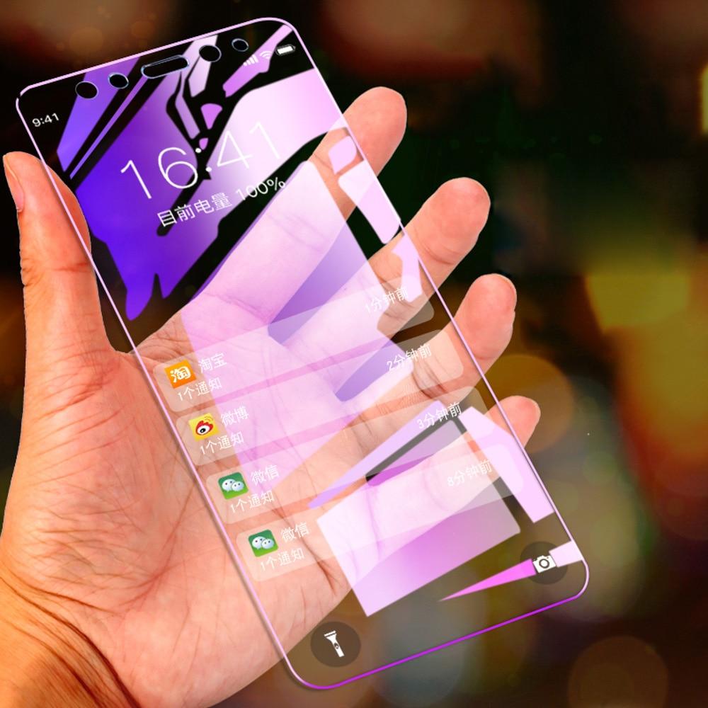 Anti-Blue Ray pantalla protector para Xiaomi Mi 9T A3 9 8 SE A2 Lite A1 9H vidrio templado en Xiaomi Mi 9X Max 2 3 película de vidrio