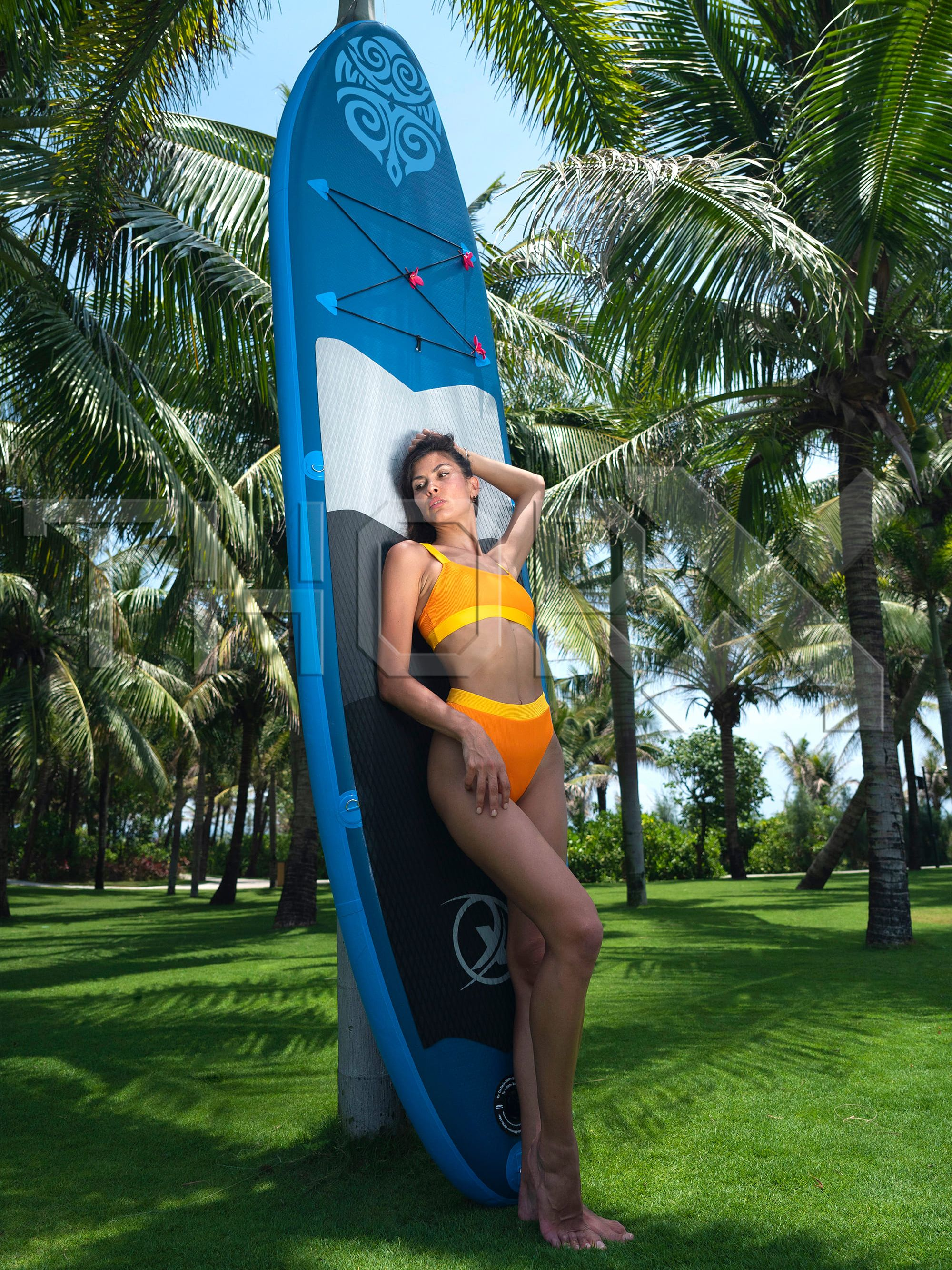 SUP330 Stand up Paddle Board 330x76x15cm, blue - SUP, surfboard, surf board and accessories