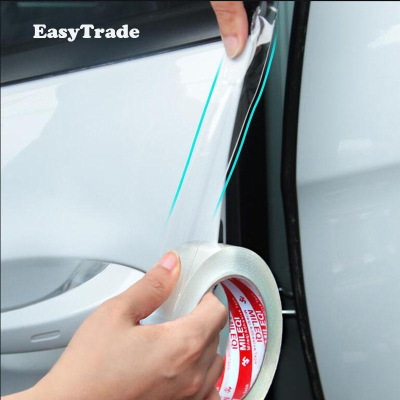 Para Chevrolet Colorado 2020 2019 2012 2011 2010 2006 Umbral de puerta de coche Pegatinas transparentes Nano Protector productos a prueba de arañazos