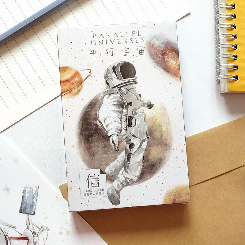 twisty parallel universe блузка 30sheets/LOT Parallel universe Oil Painting Postcard Hayao Miyazaki Postcards/Greeting Card/wish Card/Fashion Gift