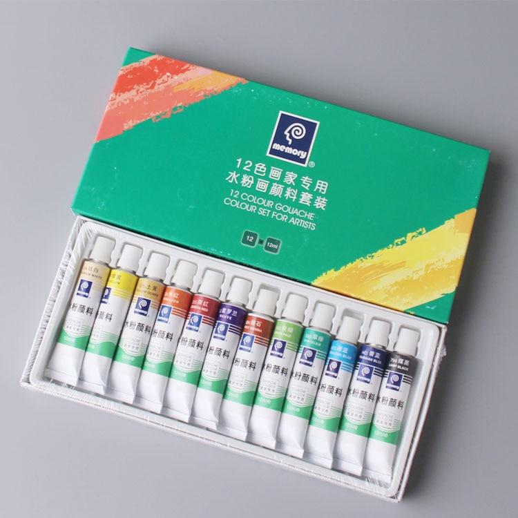 Фото - 12 мл * 12 штук/Искусственная краска, искусственная краска, акварельная краска s, профессиональная краска для художников краска