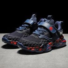 SKHEK-chaussures de sport pour enfants de 12 ans, baskets respirantes pour garçons, 6 et grandes, 7, 8, nouvelle collection, 9, 10 mailles
