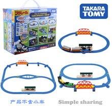 Takara Tomy Plarail Thoma & Friends Recombinant facile Rail ensemble le réservoir moteur Train ferroviaire motorisé Locomotive modèle jouet