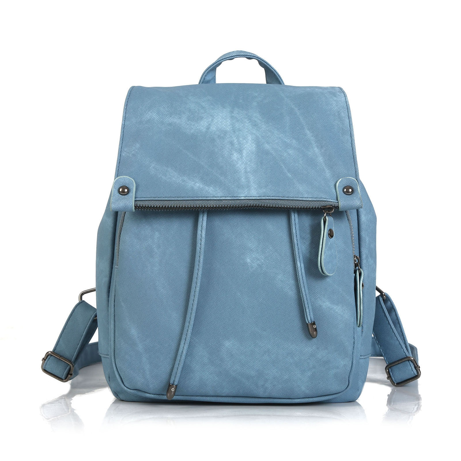Summer Handbags Fashion College Style Backpack  Women's Bag Fashion Solid Color Bag Simple Temperame
