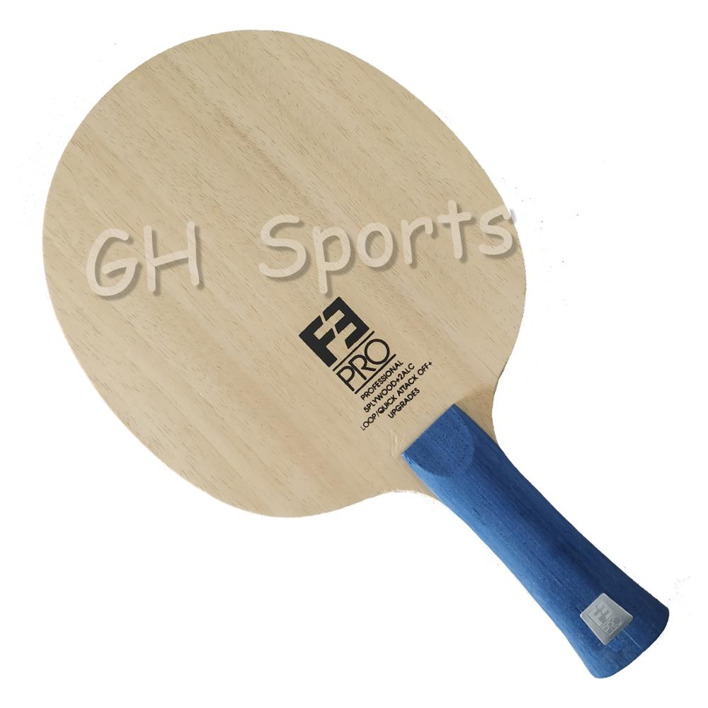 Sanwei f3 pro (5 + 2 alc, superfície ayous premium, fora +) arylate carbono ténis de mesa lâmina raquete ping pong bat paddle