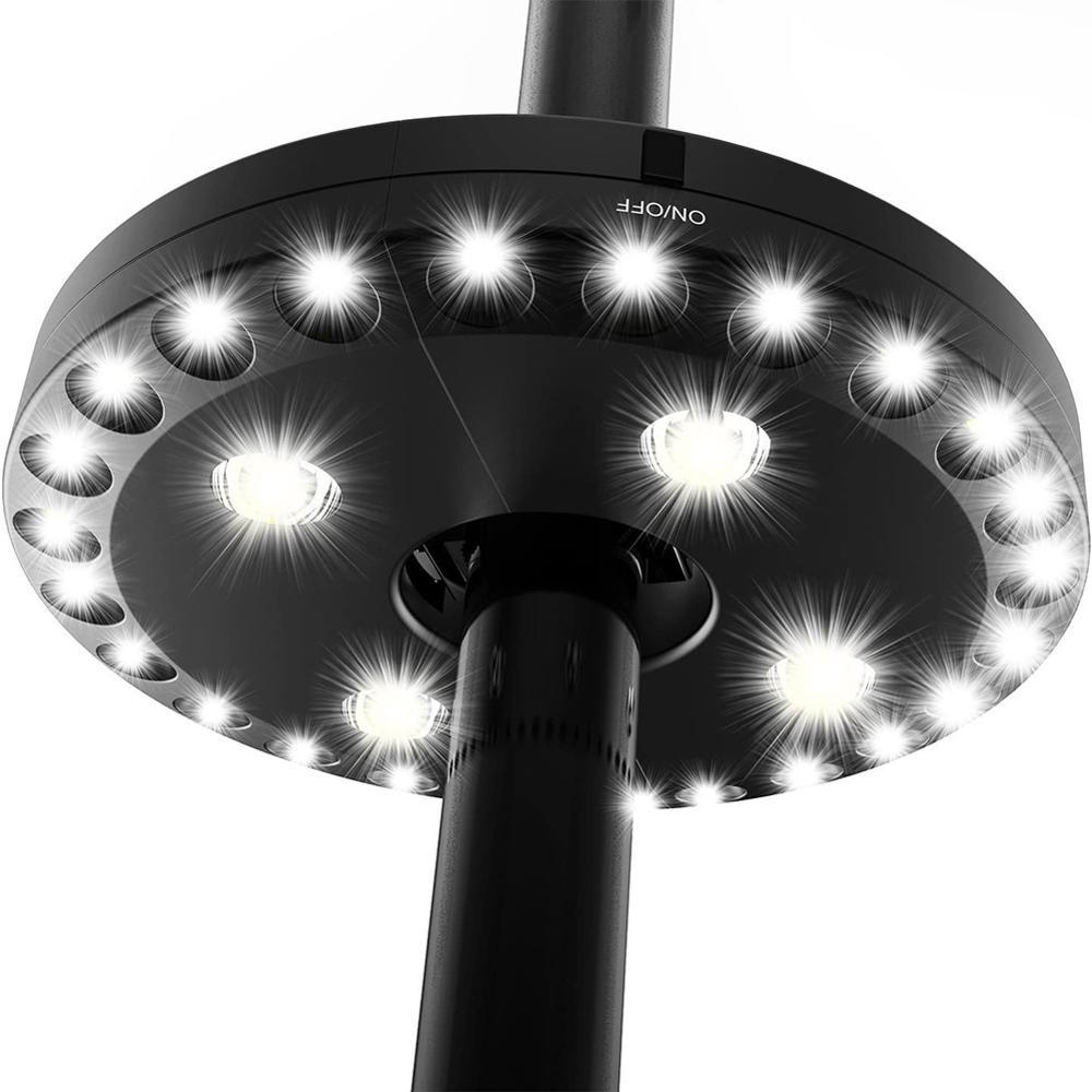 NICLUX-luz LED para Sombrilla de Patio, luces para jardín, Sombrilla, exterior, tienda...