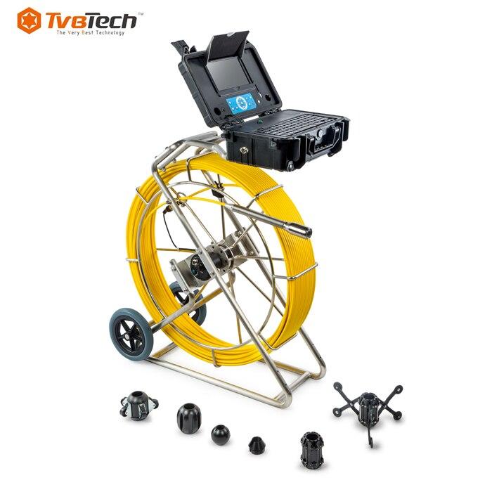 TvbTech P512R محدد المواقع اللاسلكي للكاميرا التفتيش تحت الأرض مواسير صرف