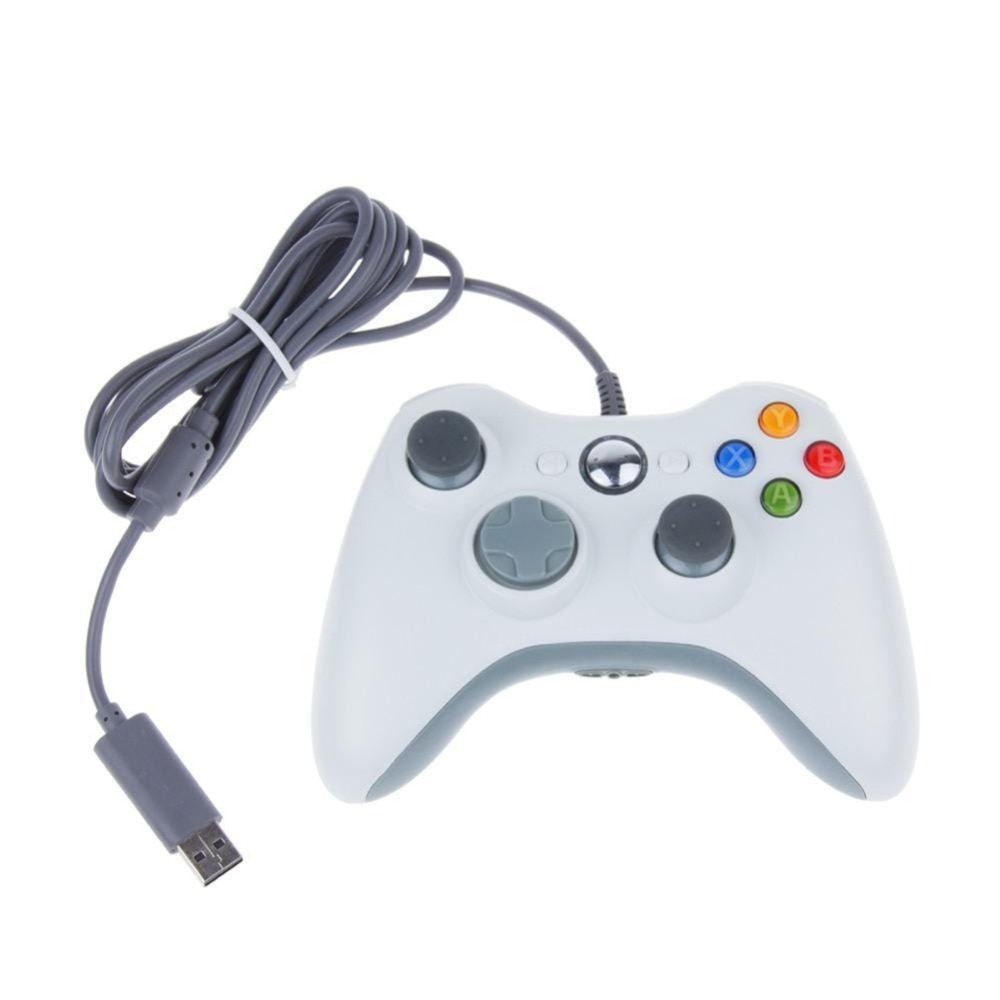 GTIPPOR USB Wired Gamepad For Xbox 360 Controller Joystick For Official Microsoft PC Controller For