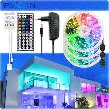 LED Bande SMD5050 10M 15M 20M 30M 12v ruban led RGB 18LED s/mètre avec lumière de lumière led strip