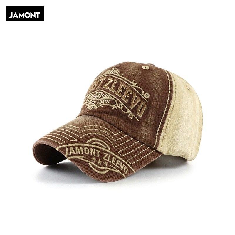 Europa América bordado lavado hacer gorras de béisbol antiguas primavera otoño marca Snapback algodón sombreros para hombres y mujeres