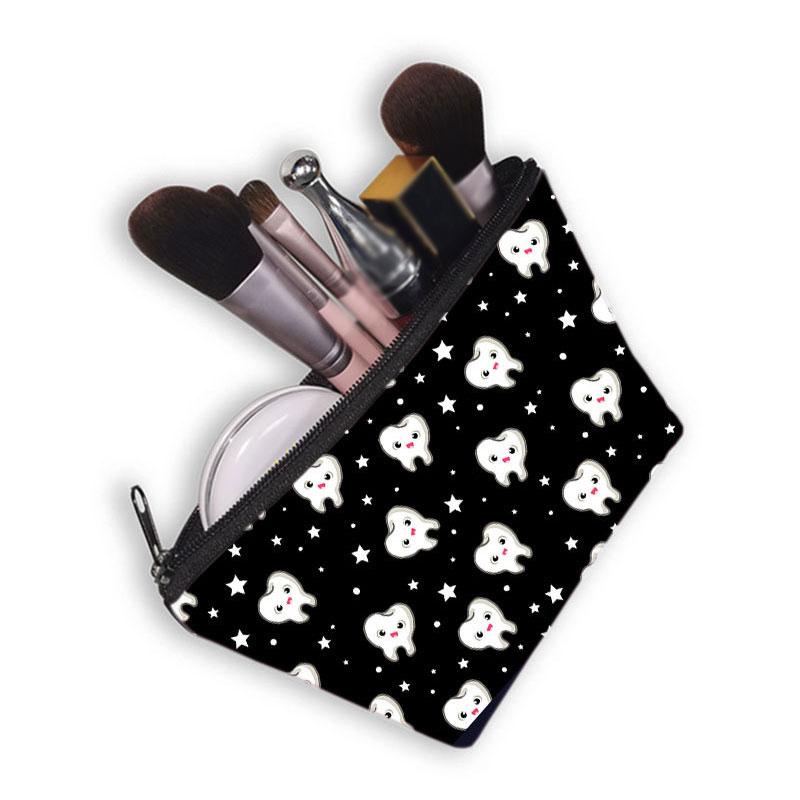 New Fashion Printing Cosmetic Bag Women's Makeup Bag Toiletry Tool Organizer Bag Washing Bag Pouch P
