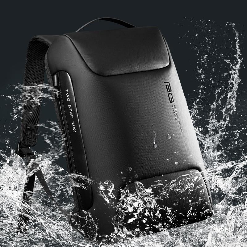 Waterdichte anti-dief rugzak geschikt voor 15,6 inch laptop, - Rugzakken - Foto 5