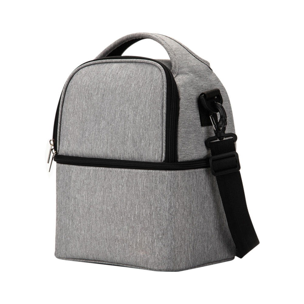 Extractor de leche térmica de doble capa para mochila de madre, bolsa aislante de trabajo, botella de alimentación de mantenimiento fresco al aire libre