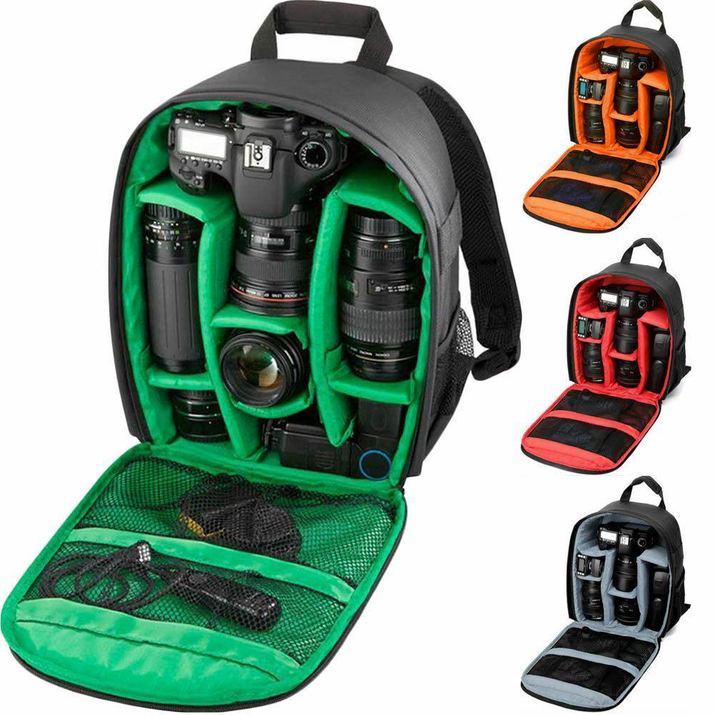 Video Digital DSLR Bag Multi-Functional Camera Backpack Waterproof Outdoor Camera Photo Bag Case For Nikon/For Canon