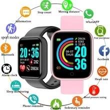 Smart Watches Men Women D20 Smart Watch Blood Pressure Monitor Sports Fitness Bracelet Smartwatch Fo