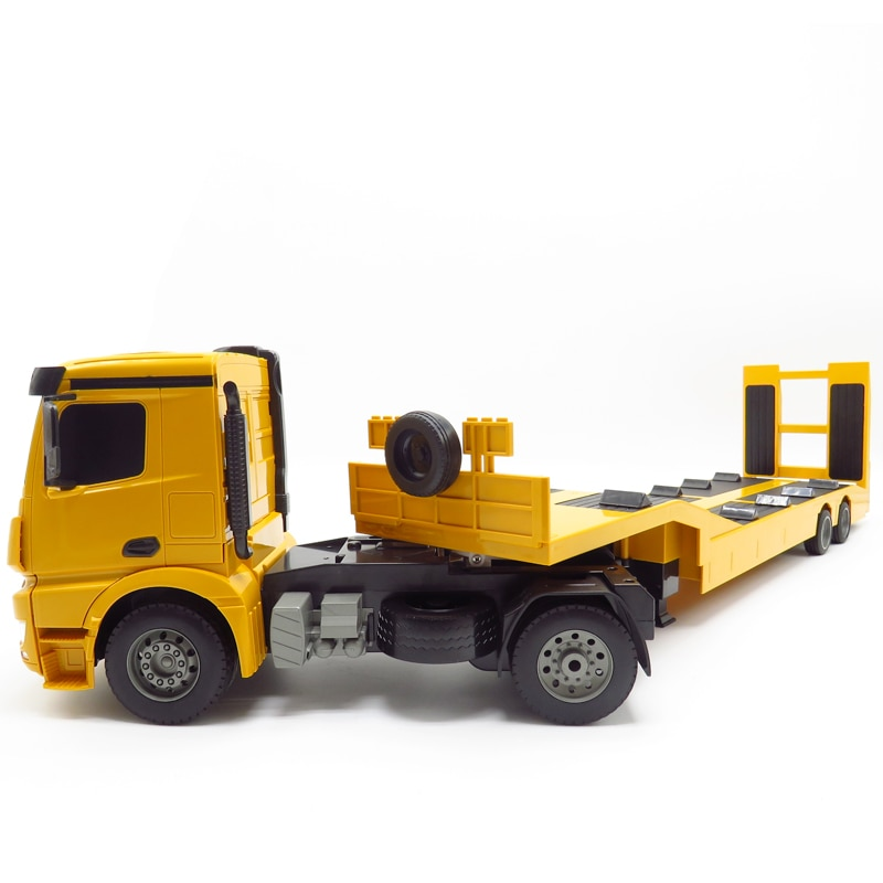 RC Trailer Big Trailer 1:20 2.4G Engineering Electric Tractor Remote Control Car Kids Transfer Car Toys Children Rc Tow Truck enlarge