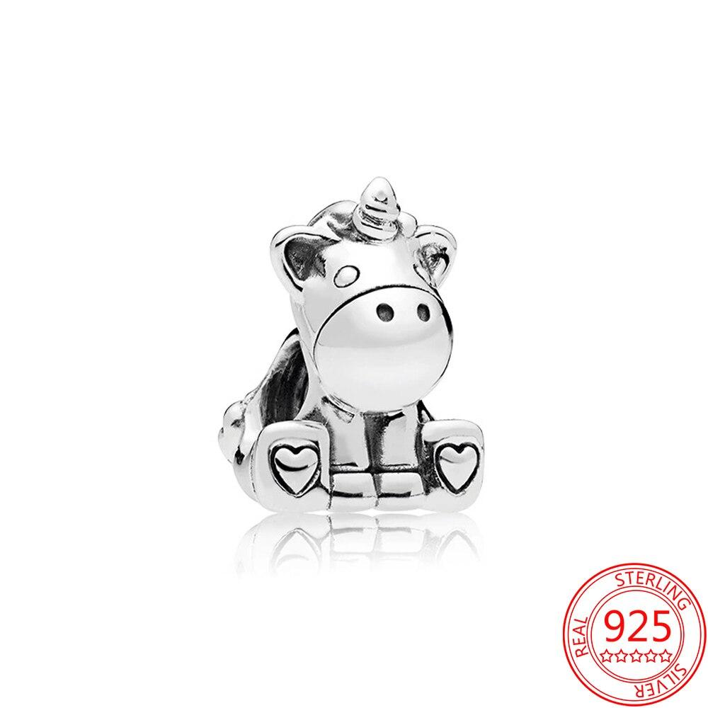 Abalorio de plata 925 con dibujos de la serie de mascotas... cuentas...