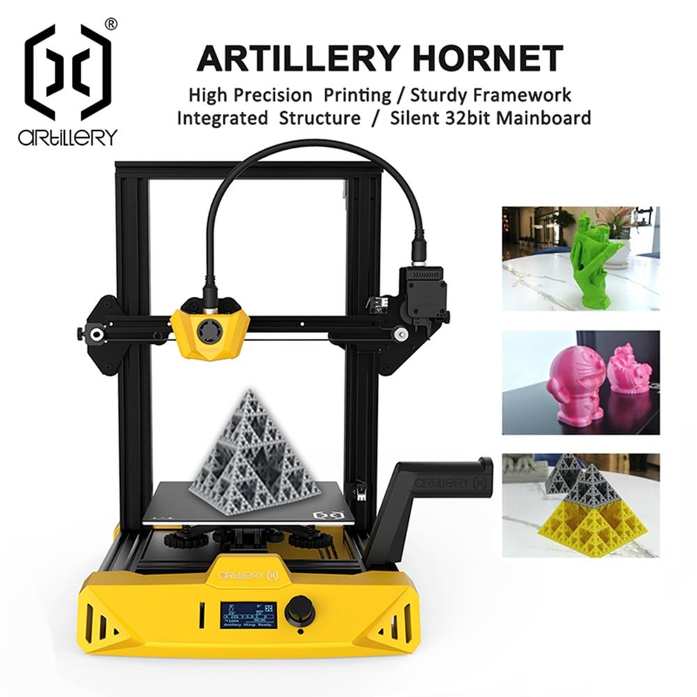 2021, Artillery Hornet Ultra-Quiet 220X220X250mm Size Desktop-Level High-Precision 3D Printer