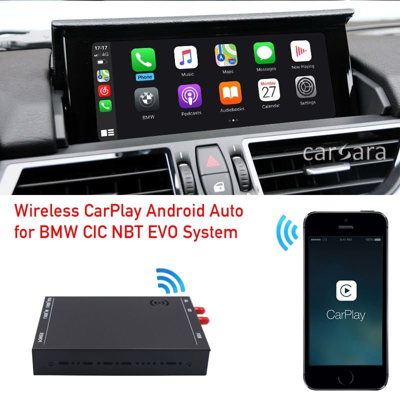 Review Wireless carplay adapter Z4 Series E89 2009-2016 with CIC system apple play iphone airplay ios mirror car android auto interface